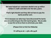Arbitration Help! Eradicate Your Loans! Call Us!